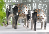 Small Nickel Elephant Tealight