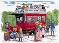 All Our Yesterdays Counted Cross Stitch Kit – Bus in the Park