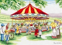 All Our Yesterdays Counted Cross Stitch Kit – Countryside Carousel