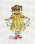 All Our Yesterdays Counted Cross Stitch Kit – Dolly Chain