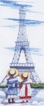 All Our Yesterdays Counted Cross Stitch Kit – Eiffel Tower
