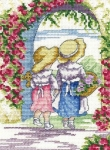 All Our Yesterdays Counted Cross Stitch Kit – English Roses