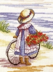 All Our Yesterdays Counted Cross Stitch Kit – Flowers for Home