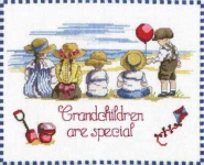 All Our Yesterdays Counted Cross Stitch Kit – Grandchildren are Special