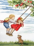 All Our Yesterdays Counted Cross Stitch Kit – Higher
