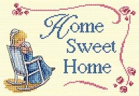 All Our Yesterdays Counted Cross Stitch Kit – Home Sweet Home