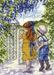 All Our Yesterdays Counted Cross Stitch Kit – In the Secret Garden