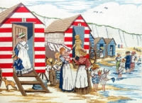 All Our Yesterdays Counted Cross Stitch Kit – Ladies Bathing Huts