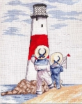All Our Yesterdays Counted Cross Stitch Kit – Lighthouse