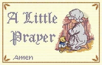 All Our Yesterdays Counted Cross Stitch Kit – Little Prayer