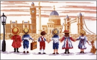 All Our Yesterdays Counted Cross Stitch Kit – London