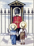 All Our Yesterdays Counted Cross Stitch Kit – Palace Guard