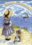 All Our Yesterdays Counted Cross Stitch Kit – Rainbows