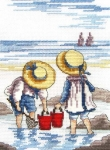All Our Yesterdays Counted Cross Stitch Kit – Rock Pooling