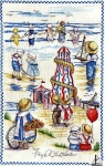 All Our Yesterdays Counted Cross Stitch Kit – Seaside Montage