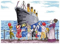All Our Yesterdays Counted Cross Stitch Kit – Titanic