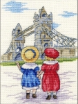 All Our Yesterdays Counted Cross Stitch Kit – Tower Bridge