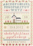 Anchor Counted Cross Stitch Kit - Classic Wedding Sampler