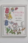 Anchor Cross Stitch Kit - Evelina Birth Sampler
