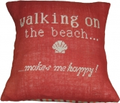Anette Eriksson Printed Cross Stitch Cushion Kit – Summer Beach