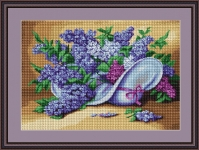 ArtGoblen Counted Cross Stitch Kit - Lilac Spray
