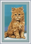 ArtGoblen Counted Cross Stitch Kit - Little Kitten