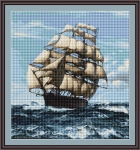 ArtGoblen Counted Cross Stitch Kit - On the High Seas