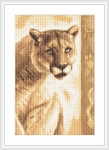 ArtGoblen Counted Cross Stitch Kit - Panther 1