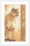 ArtGoblen Counted Cross Stitch Kit - Panther 2
