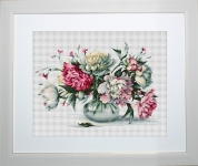 ArtGoblen Counted Cross Stitch Kit - Peonies