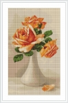 ArtGoblen Counted Cross Stitch Kit - Roses
