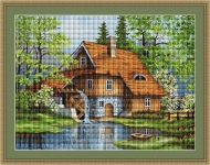 ArtGoblen Counted Cross Stitch Kit - Spring Landscape