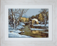 ArtGoblen Counted Cross Stitch Kit – Winter's Day