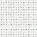 Atlascraft 14 count Aida Cross Stitch Fabric 80 x 50cm with Needle