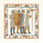 Battle of Hastings by Lesley Teare- 14 count Counted Cross Stitch Kit