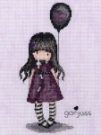 Bothy Threads Cross Stitch Kit -  Gorjuss - The Balloon