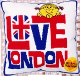 Bothy Threads Needlepoint Cushion/Pillow Kit - Love London