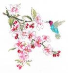 Classic Embroidery Cross Stitch Kit - Spring Nectar