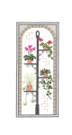Classic Embroidery Cross Stitch Kit - Town Garden - Arch