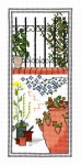 Classic Embroidery Cross Stitch Kit - Town Garden - Railing