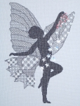 Classis Embroidery Blackwork Kit - Star Dust