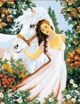 Collection D' Art Needlepoint/Tapestry Kit – Horse Dreams