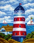 Collection D' Art Needlepoint/Tapestry Kit – Lighthouse
