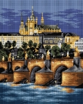 Deco-Line Printed Tapestry/Needlepoint – Charles Bridge, Prague
