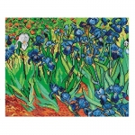 Deco-Line Printed Tapestry/Needlepoint – Irises, after Vincent van Gogh