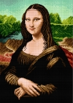 Deco-Line Printed Tapestry/Needlepoint – Mona Lisa, after Leoardo da Vinci