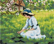 Deco-Line Printed Tapestry/Needlepoint – The Flowers of Spring