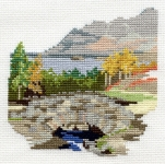Derwentwater Cross Stitch Kit - Dales/Ashness Bridge
