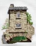 Derwentwater Cross Stitch Kit - Dales/Bridge House