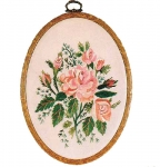 Design Perfection Freestyle Embroidery Kit - Alba Rose